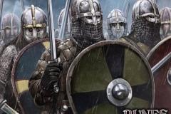 Anglo-Saxon Thegn Swordsmen